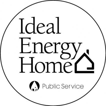 free vector Ideal Energy Home logo