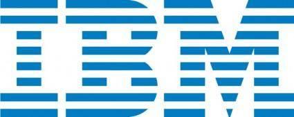 free vector IBM logo