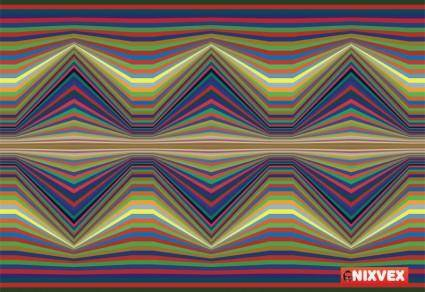"NixVex Free ""Seismic waves"" Op Art Texture"