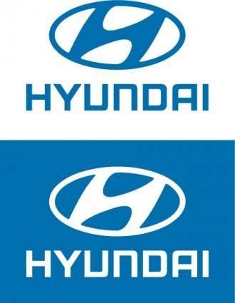 free vector Hyundai logos
