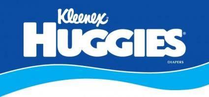 free vector Huggies logo
