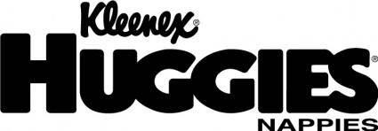 free vector Huggies (Kleenex) logo