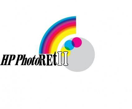 free vector HP PhotoRET2 logo