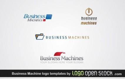 free vector Business Machine Logo Template