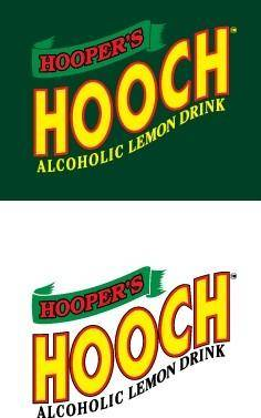 free vector Hooch lemon drink logo