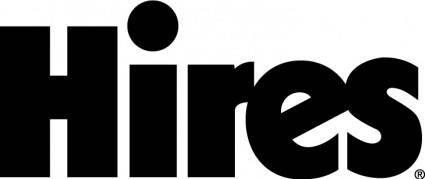 free vector Hires beer logo
