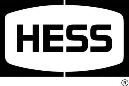 free vector Hess Petroleum logo