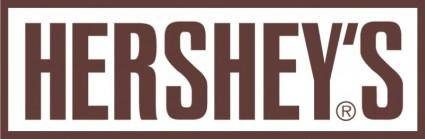 free vector Hersheys logo inverse
