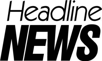 free vector Headline News logo2