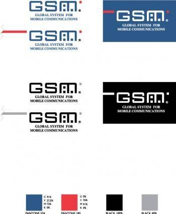 free vector GSM Global system