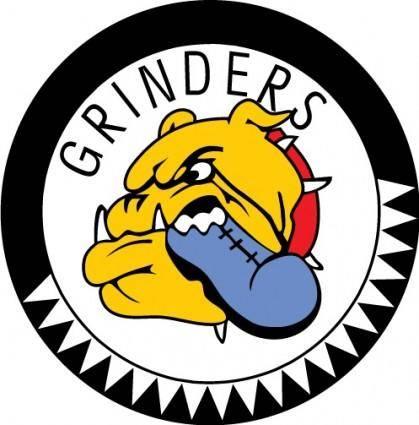 free vector Grinders logo