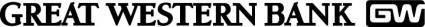 free vector Great Western Bank logo