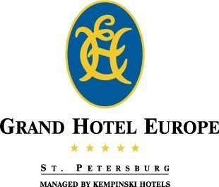 free vector Grand Hotel Europe logo
