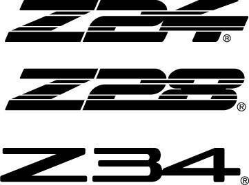 GM Z logos
