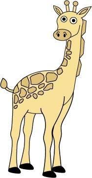 free vector Free Giraffe Vector