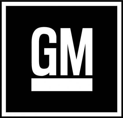 free vector GM logo