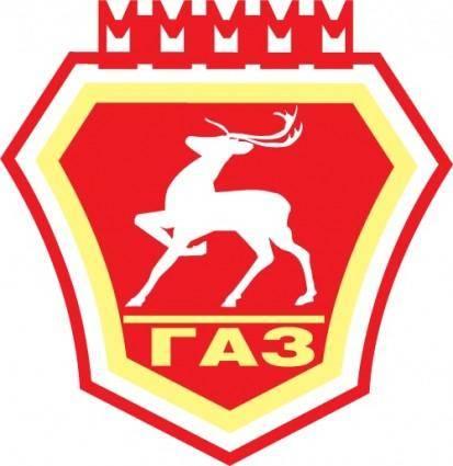 free vector GAZ auto logo
