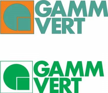 Gamm Vert logos
