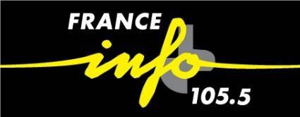 free vector France Info radio logo