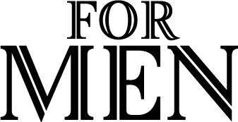 free vector For Men logo