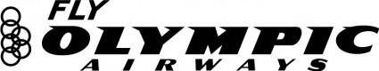 Fly Olympic airways logo