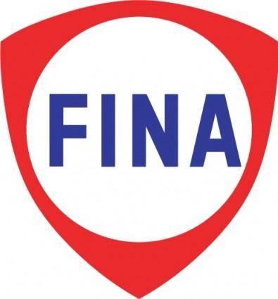 free vector FINA logo