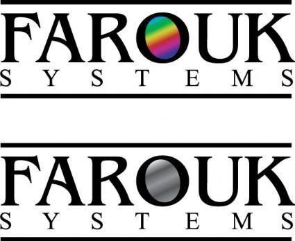 free vector Farouk Systems logos