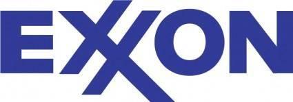 free vector Exxon logo