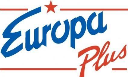 free vector Europe Plus logo