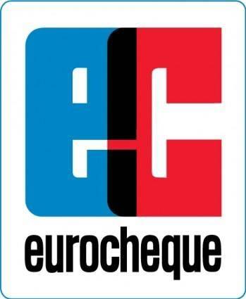 free vector Eurocheque logo