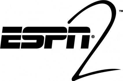 free vector ESPN2 logo