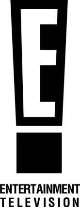 free vector Entertainment TV logo