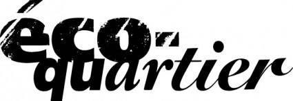 Eco-cuartier logo