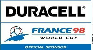 free vector Duracell France98 logo