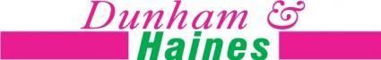 free vector Dunham&Haines logo