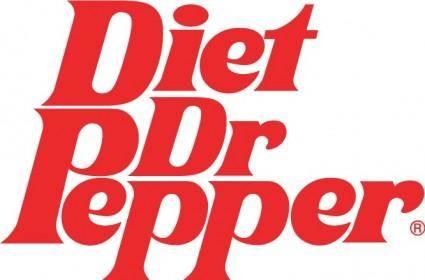 Dr Pepper Diet logo