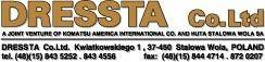free vector Dressta logo