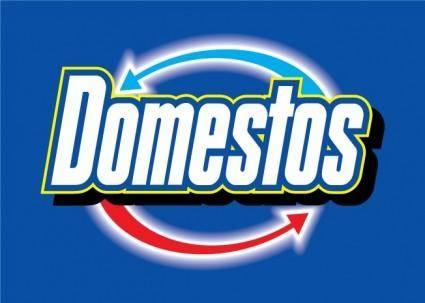 free vector Domestos logo