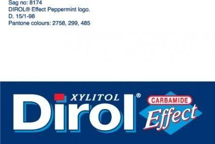 free vector Dirol Effect logo