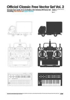Official Classic Free Vector Set 2.