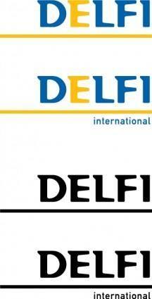 free vector Delfi International logo