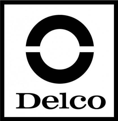 free vector Delco logo