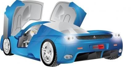 free vector Ferrari Enzo Vector
