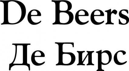 free vector De Beers logo