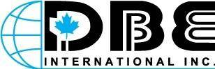 free vector DBE International logo