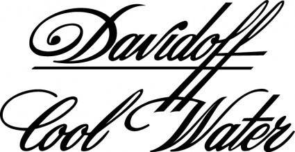 free vector Davidoff Cool Water logo