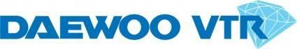 free vector Daewoo VTR logo