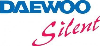 free vector Daewoo Silent logo