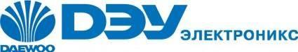 Daewoo logo RUS