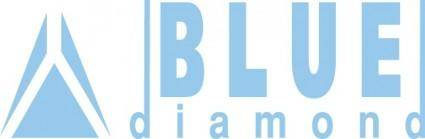 free vector Daewoo Blue diamond logo